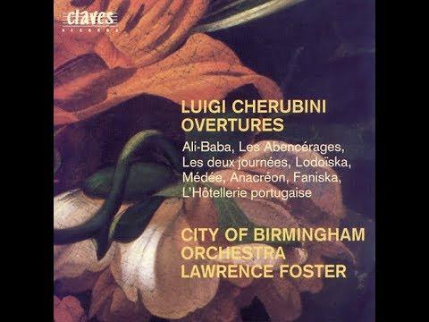 Cherubini Overtures - Ali-Baba / City of Birmingham Symphony Orchestra, Lawrence Foster