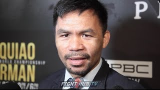 PACQUIAO ON THURMAN