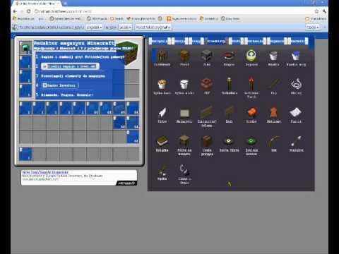 Minecraft Inventory Editor - 0425