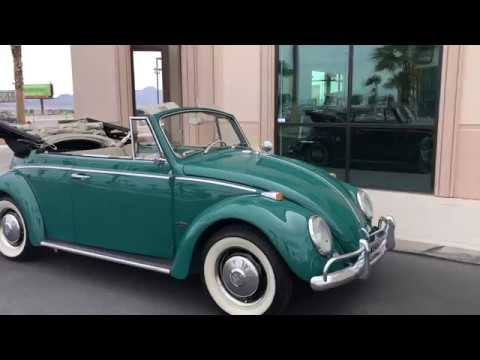 1966 Volkswagen Convertible Beetle At Celebrity Cars Las Vegas