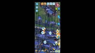 SimCity BuildIt half 1 000 000 city - 2 regions