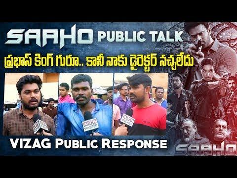 Saaho Movie Public Talk | Saaho Movie Public Response | Saaho Movie Review | Vizag | ABN Telugu teluguvoice