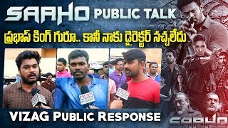 Saaho Movie Public Talk | Saaho Movie Public Response | Saaho Movie Review | Vizag | ABN Telugu