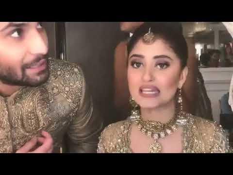 Sajal Aly & Ahad Raza Mir - Live Chat At House Pf Nabila