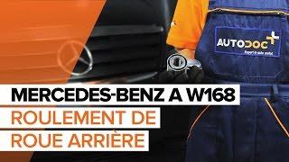 Montage Kit de roulement de roue arrière et avant MERCEDES-BENZ A-CLASS : video manuel