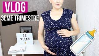 VLOG   Fin de grossesse, Projet de naissance, Pause Youtube 🙊 Sans Tabou