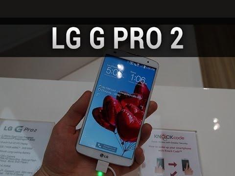 LG G Pro 2, prise en main au MWC 2014 - par Test-Mobile.fr