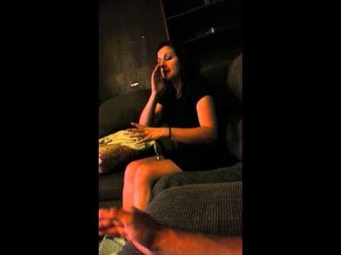 Naughhty girl spank