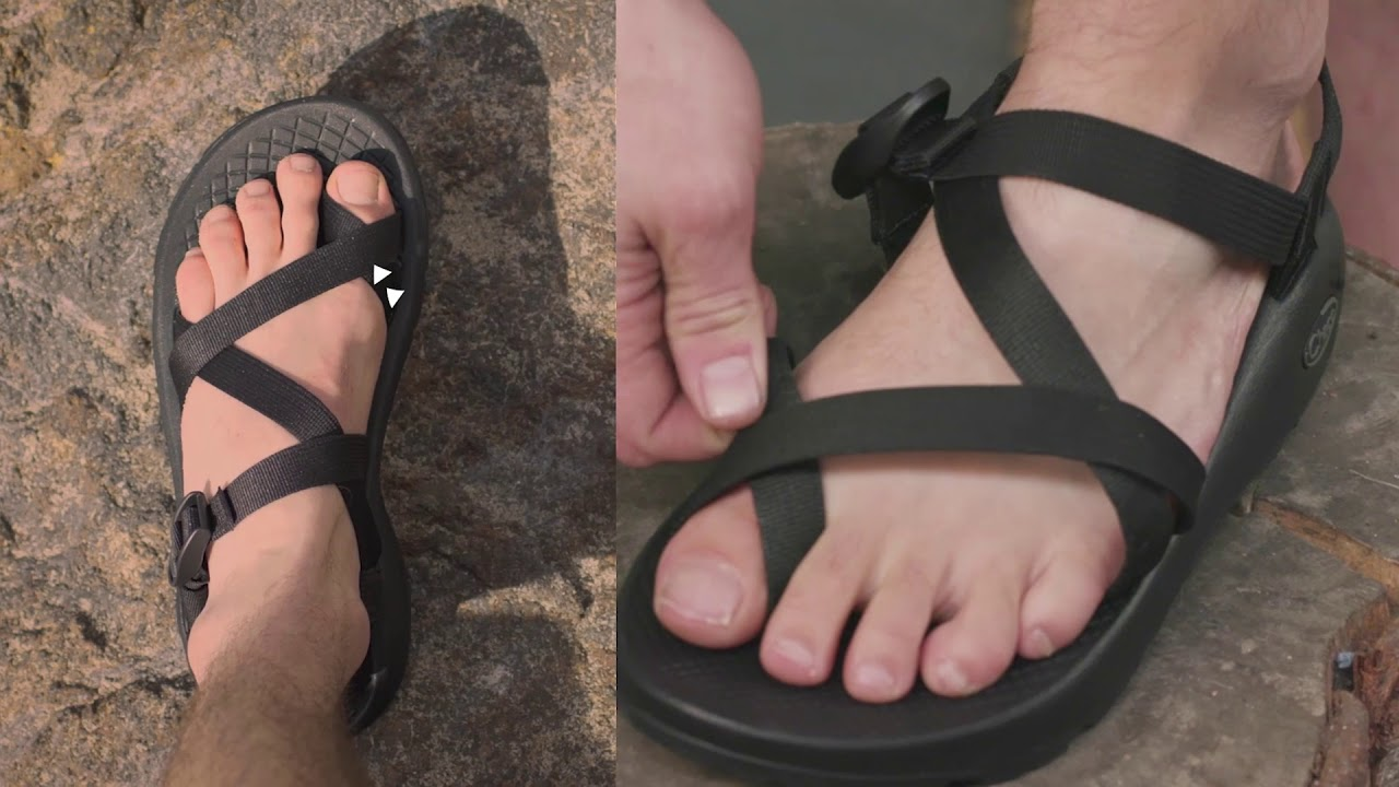 a465c881666a Adjusting Chaco Sandals with a Toe Loop - YouTube