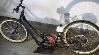 Fabriquer un vélo trottinette à moteur 49cc