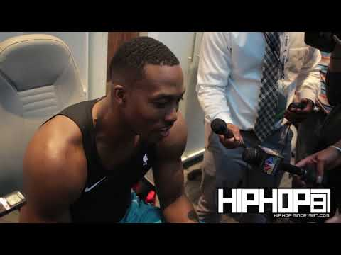 Dwight Howard Talks Playing Against the Hawks, Kemba Walker, His First Home Game in Charlotte & More