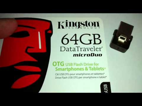 Kingston DataTraveler MicroDuo (64GB) overview