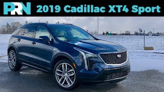 2019 Cadillac XT4 Sport AWD Full Tour & Review