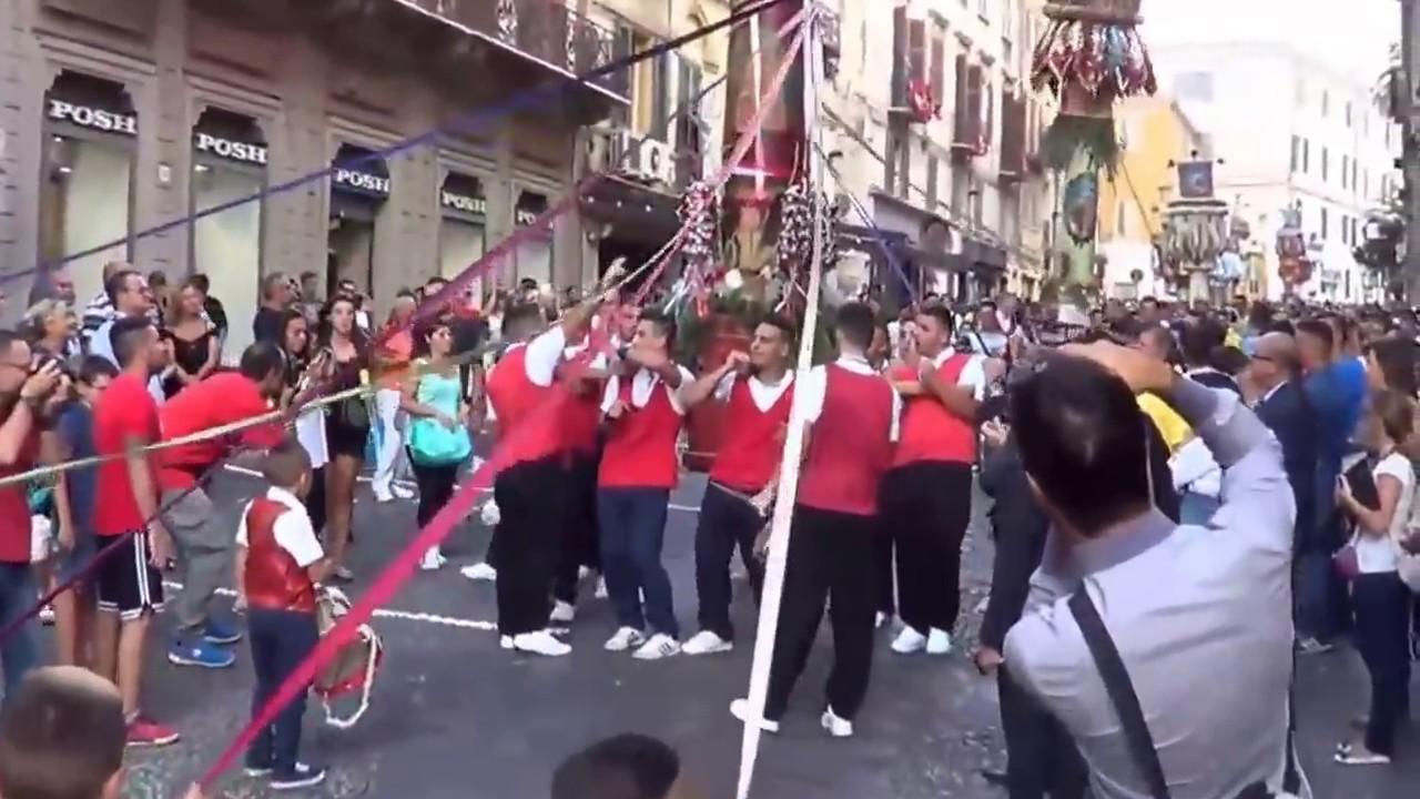 Sassari Candelieri medi 2015 - YouTube