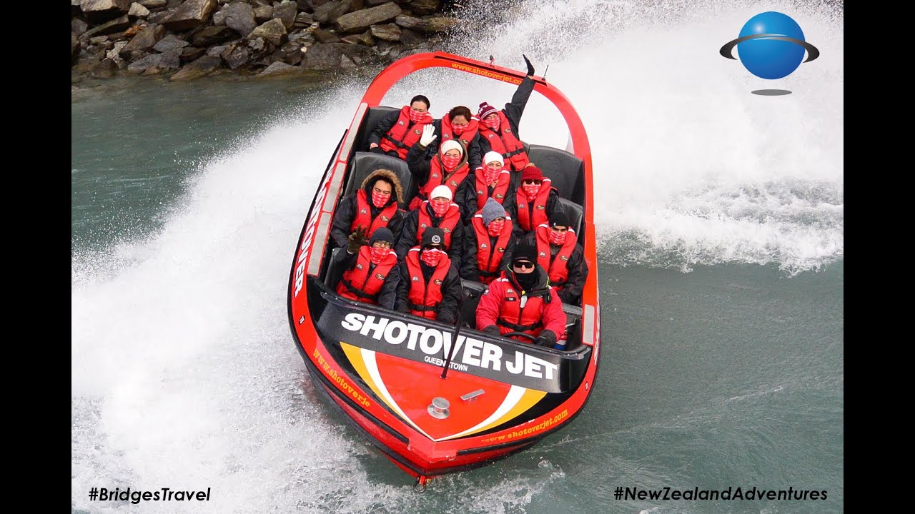 how long is the shotover jet ride