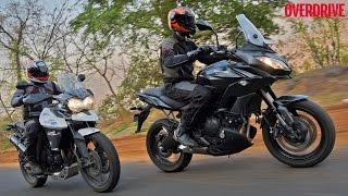 Kawasaki Versys 650 vs Triumph Tiger 800 - Comparative Review