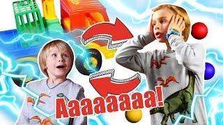 Смешное видео для детей – Как стать маленьким? - Игры для мальчиков.