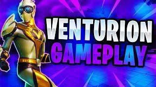 VENTURION GAMEPLAY! - Fortnite: Battle Royale! (THE BEST FORTNITE SKIN)