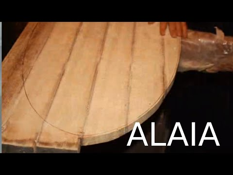 ALAIA blank make your own wood surfboard