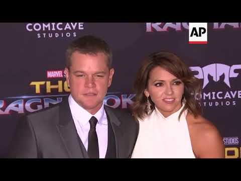 Cate Blanchett, Matt Damon, Chris Hemsworth, Mark Ruffalo and more at 'Thor: Ragnarok' premiere