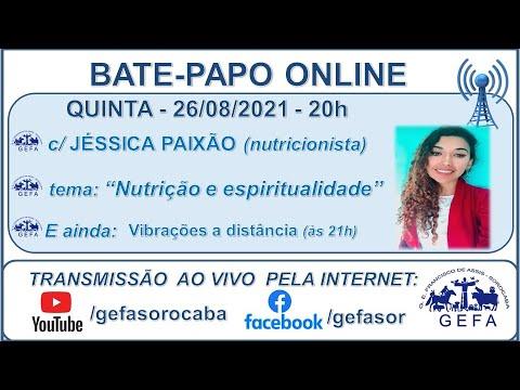 Assista: Palestra online - c/ JÉSSICA PAIXÃO (26/07/2021)