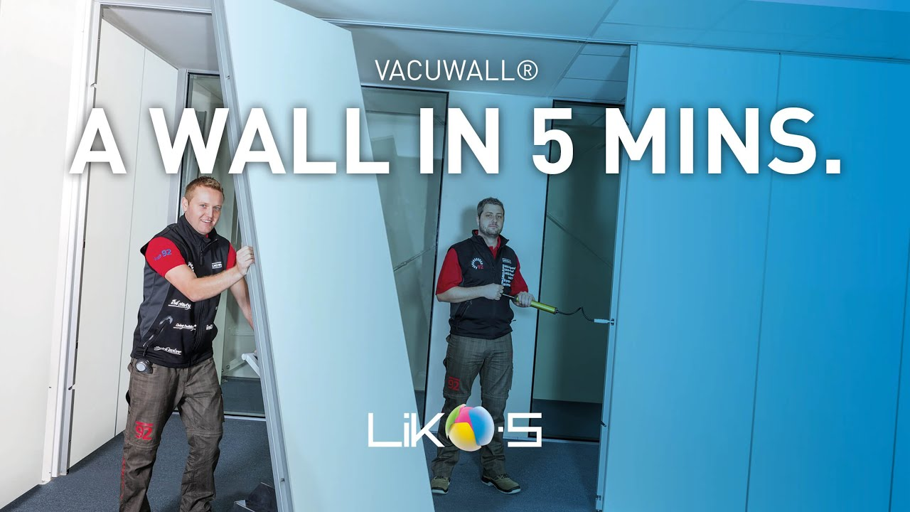 Vacuwall The First Really Movable Wall Youtube