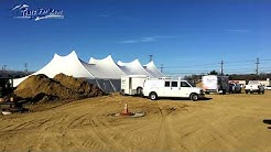 Renting a construction tent