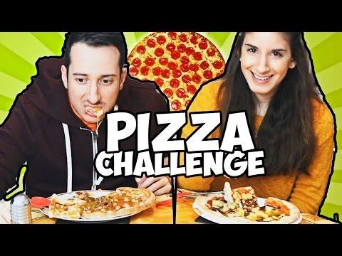 PIZZA CHALLENGE FINITA MALE! #challengeinlove