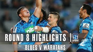 ROUND 8 HIGHLIGHTS: Blues v Waratahs – 2019