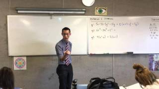 Expanding & Factorising (2 of 4: Using factors to solve expressions)