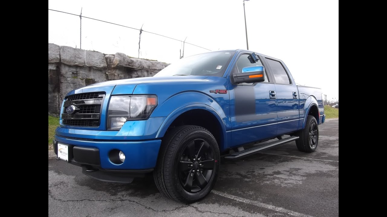 2013 ford f 150 fx4 appearance supercrew 4x4 5 0 blue flame at ford of murfreesboro 888 439 1265 youtube