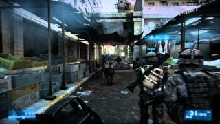 Battlefield 3 PC on EVGA GTX 460 - Gameplay Ultra Graphics DX 11