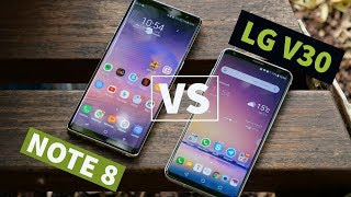 GALAXY NOTE 8 vs LG V30: primo contatto | IFA 2017