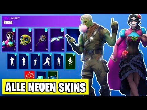 *NEU* Galaxy Skin Set, Starter Paket 4, Rosa, Dante - Skins im Shop | Fortnite Halloween Deutsch