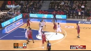 2008 CSKA Moscow Efes Pilsen Turkey 90 68 Men Basketball EuroLeague group stage full match