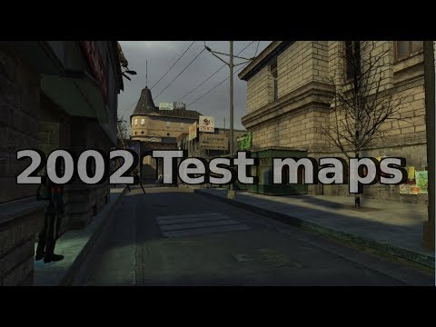 Half-life 2 Beta: Assorted 2002 test maps