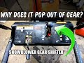 HOW-TO Fix A Gear Shifter That Pops Out Of Gear!