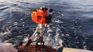 Dıştan takma deniz motoru tomking tk 140 fb