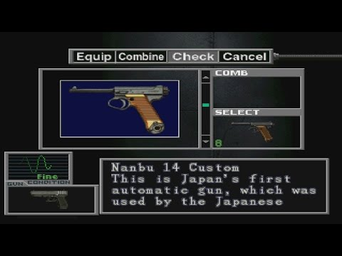 Resident Evil: Survivor Weapons Review Part 1 of 2