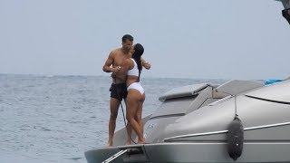 EXCLUSIVE - Nicole Scherzinger and boyfriend Grigor Dimitrov in Saint Tropez - Part 1