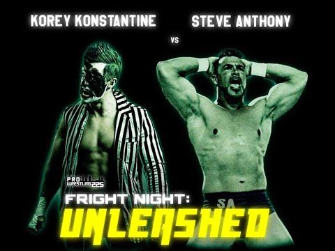 Unleashed: Steve Anthony vs. Korey Konstantine