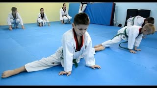 Тхэквондо Дети / Киев(Taekwondo Children / Acrobatics Day., 2014-11-22T22:50:23.000Z)