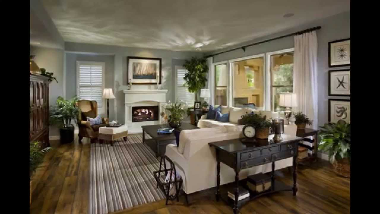 Wall Decor Ideas For Family Rooms To Design A Narrow Or