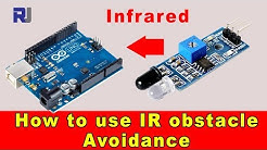 Infrared Obstacle Avoidance module for Arduino with code