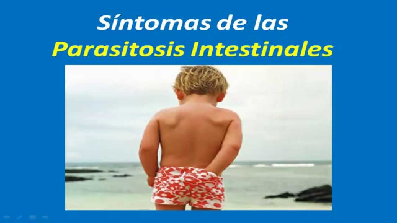 síntomas de ITS parásitos