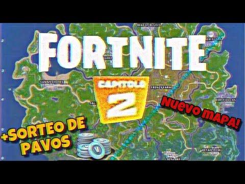 FORTNITE CAPITULO 2 MAPA FILTRADO + SORTEO DE PAVOS ! Fortnite season 11 | CaramelitoK