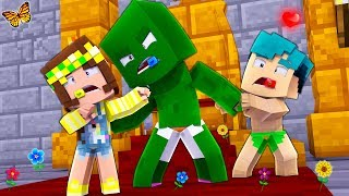 Minecraft - WHO'S YOUR MOMMY? - BABY ZOMBIE EATS US ALIVE?!