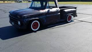 65 Chevy C10 stepside big back glass truck