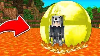 YUVARLAK ALTIN HAPİSHANESİNDEN KAÇIYORUM! 😱 - Minecraft