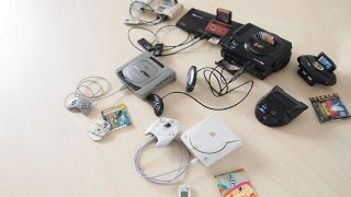 Sega System History Collection Full Set Gashapon | セガヒストリーコレクション